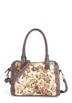 Liberty and Justice Floral Bag