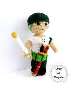 Amigurumi inspired in Zoro. Do You Like It, Zoro, Stuffed Animals, Teddy Bear, Inspired, Inspiration, Amigurumi, Biblical Inspiration, Plushies