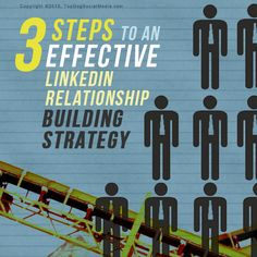 3 Steps To an Effective LinkedIn Relationship Building Strategy - @meloniedodaro