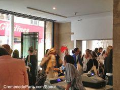 Pop up Store de la marque Soeur à la Crèmerie de Paris