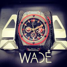 "Hublot ""Wade"" @Kooshjewelers www.kooshjewelers.com (954) 927-7777"