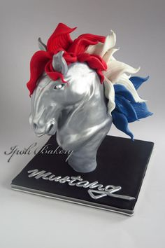 Mustang Cake - Cake by William Tan