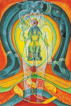 The Thoth Tarot -- Aeon (Judgement in other decks). I've always found Crowley's card to be stunning.