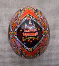 Pysanka Pysanky from Ukraine Chicken Easter Egg by PysankaFolkArt