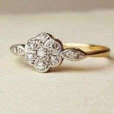 100 Simple Vintage Engagement Rings Inspiration (14)