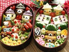 Decorative Bento - no problem with kids eating their lunch