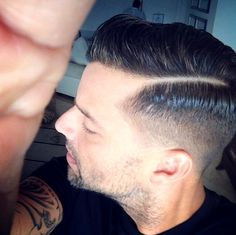 """The Puerto Rican pop singer 'Ricky Martin' is also an actor and author. The all-boy pop group that he beganRead More """"Ricky Martin Hairstyles"""" Ricky Martin, Great Haircuts, Haircuts For Men, Haircut Men, Men's Haircuts, Fade Haircut, Classic Mens Hairstyles, Cool Hairstyles, Celebrity Hairstyles"""