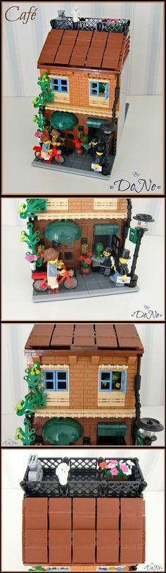LEGO Café #LEGO #Building