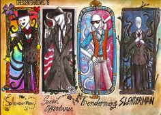 Guess who got addicted to Slenderman and his brothers??? After one original deviation from me, I'm gonna spam you with them XD P.S> I personally think that Splendorman's picture frame is made fr...