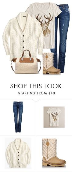 """""""Untitled #3970"""" by shopwithm ❤ liked on Polyvore featuring ONLY, J.Crew and Tory Burch"""