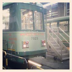 Tram Garage..
