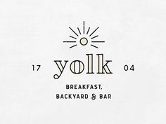 Yolk Logo - Upcoming