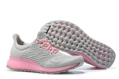 Adidas Futurecraft 3D PRINTED Ultra Boost Wolf Grey Pink Pow UK Trainers 2017/Running Shoes 2017