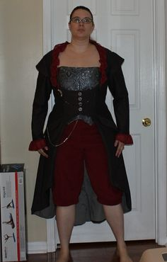 Steampunk costume - finished!