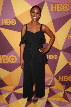 Issa Rae, Golden Globes - 2018 Golden Globes afterparties
