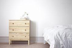 TARVA ladekast  #IKEA #kast #slaapkamer #hout #interieur More