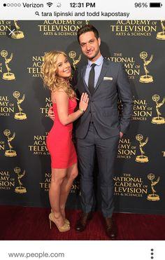 Tara Lipinski & fiancé Todd