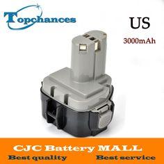 Us Fast Shipping High Quality 12v 3000mah Ni Mh Battery For Makita