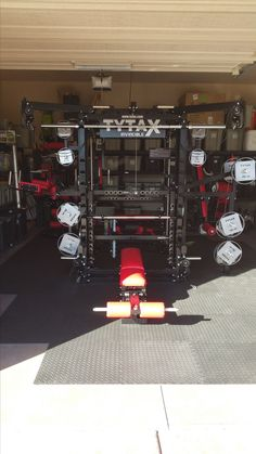 TYTAX® best home gym machines created and improved for more than 20 years. Home Gym Machine, Gym Machines, Home Gym Design, Best Home Gym, Home Gym Equipment, Garage Gym, Bodybuilding Workouts, Fitness, Shots