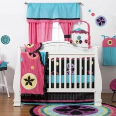 One Grace Place Magical Michayla Baby Bedding and Accessories