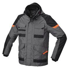 Beta Giacca tripla Parka impermeabile abbigliamento lavoro nera grigio 7734