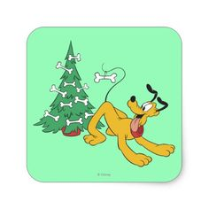 Shop Pluto at Christmas Square Sticker created by MickeyAndFriends. Personalize it with photos & text or purchase as is! Christmas Cartoons, Disney Christmas, Christmas Sale, Christmas Gifts, Xmas, Christmas Squares, Holiday Essentials, Christmas Stickers, Stickers Online