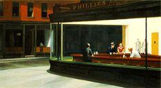 Hopper, Edward (1882-1967) - 1942 Nighthawks