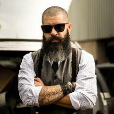 Bald Brothers is a men's lifestyle magazine showing men, especially bald men, how to live the best lives possible as a man! Beard Growth, Beard Care, Hair Growth, Going Bald, Bald Man, Full Beard, Epic Beard, Sexy Beard, Male Pattern Baldness
