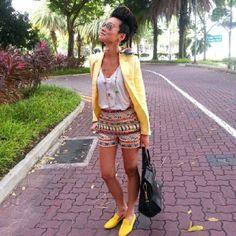 Esther Quek, spring yellow.