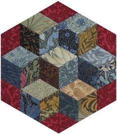 Barbara Brackman's MATERIAL CULTURE: Morris Hexathon 4: Box Hill