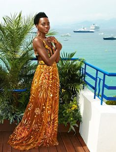 Lupita Nyong'o featured in 'Vanity Fair France' Magazine August 2015