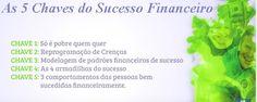 As 5 chaves do sucesso financeiro