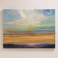 One of my favorite discoveries at WorldMarket.com: 'Orange Light' by Julie Joy