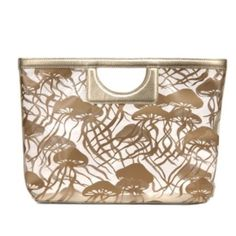 Kate Spade Gold Nagshead Kei Tote {beach bag} Awesome bag for summer with the Gold jellyfish design kate spade Bags