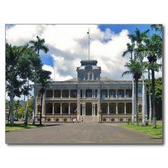 USA - Hawaii - Honolulu - Iolani Palace at Day