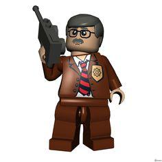 Lego Batman James Gordon
