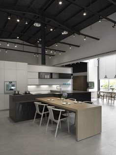 #modern #house #kitchen