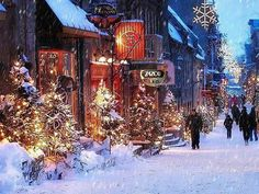 christmas town - Google Search