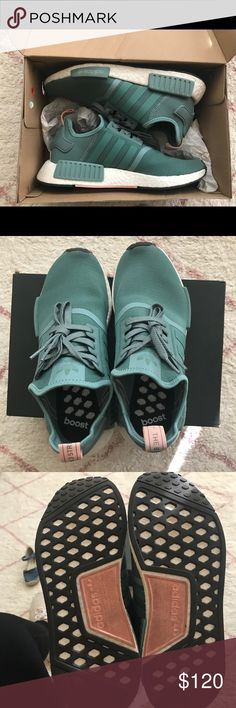 Adidas NMD Size 9 Worn 3 times. Can fit 9-10 women's. $100 shipped p. P. adidas Shoes Athletic Shoes