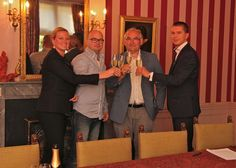 Ondertekening samenwerkingscontract met Homemade Catering op Maat