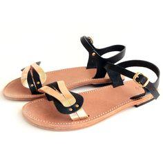 eu.Fab.com | Aphrodite Sandals Women's Gold