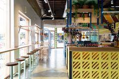 Fonda Hawthorne Restaurant by Techné Architecture + Interior Design