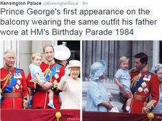 Prince George and Prince William photo (C) Kensington Palace TwitterPrince George and Prince William photo (C) Kensington Palace Twitter