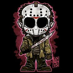 Lordmesa Art — Ch ch ch ch ka ka ka ka… #fridaythe13th...