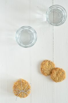 hartige havermoutkoekjes - savory #oatcookies #oatmeal #cheese