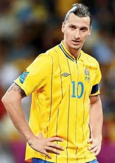 Zlatan Ibrahimovic, the worlds best soccer player