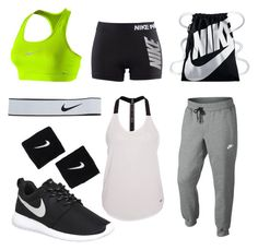 """""""nike"""" by emilyolson2019 on Polyvore featuring NIKE"""