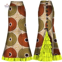 Image of african skirts for women long Maxi Skirt for Women Plus Size new african women clothis one piece lady clothes natural Long African Skirt, African Prom Dresses, Latest African Fashion Dresses, African Print Fashion, African Wear, African Attire, African Women, African Dress, Maxi Skirts For Women
