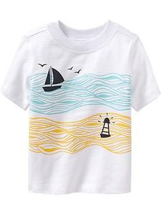 Sailboat-Graphic Tees for Baby | Old Navy