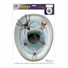 Have it! Going in spider infested bathroom.